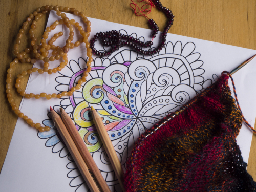 Colouring craft