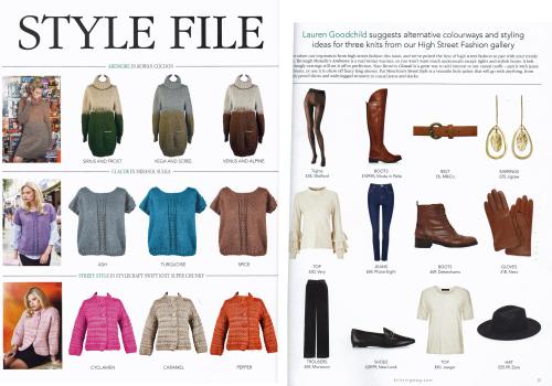 Style file spread