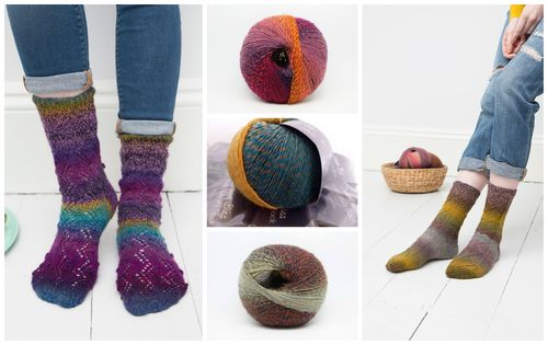 Rialot sock collage
